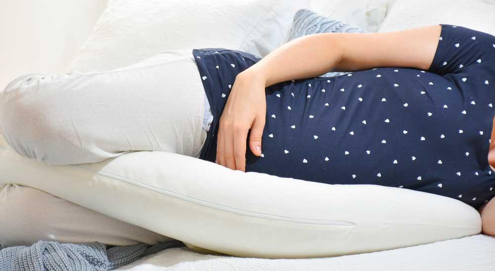 Coussin d'allaitement microbilles